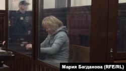 Танзиля Комкова в зале суда (архивное фото)