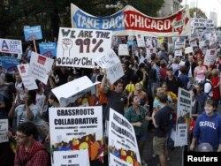 Протести во Чикаго.
