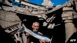 Наслідки бойових дій на Донбасі, архівне фото