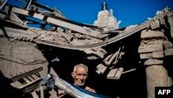 Наслідок обстрілу будинку на Донбасі, ілюстраційне фото