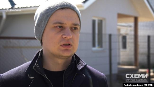 Олег Пушак знімав 9 квітня 2017 року мітинг під будинком Віталія Шабуніна
