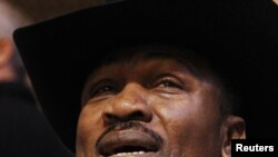 Former world heavyweight boxing champion Joe Frazier in January 2011
