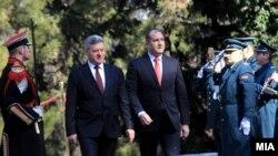 Presidenti i Maqedonisë, Gjorge Ivanov dhe ai i Bullgarisë, Rumen Radev