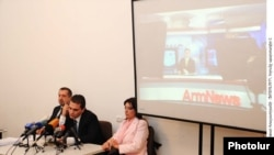 Armenia -- National Commission on TV and Radio holding a meeting, 28Oct., 2010