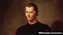 Портрет Никколо Макиавелли работы Санти ди Тито. Фрагмент
