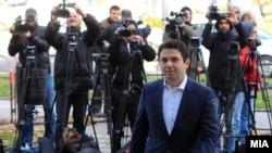 Архива: Поранешниот министер за транспорт и врски, Миле Јанакиески пред Кривичниот Суд.