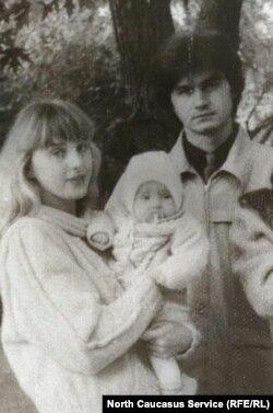 Букенгольц с семьей