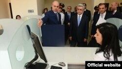 Фотография - официальный сайт президента Армении