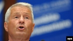 Jagland Thorbjorn says the Council of Europe can only have members who comply with its standards.