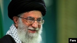 President Mahmud Ahmadinejad fell out of favor with Iran's Supreme Leader Ayatollah Ali Khamenei (above) due to a power struggle.
