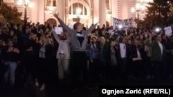 Protest u Beogradu, 4. april 2017.