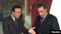 Петър Стоянов и Иван Костов през 2001 г.