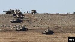 قوات تركية على الحدود مع سوريا والعراق