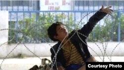 طفل عراقي تصوير سمير مزبان