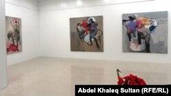 جانب من معرض الفنان سيروان باران