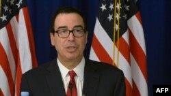 ABŞ maliyyə naziri Stephen Mnuchin