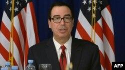 Стивен Мнучин, АҚШ қаржы министрі.