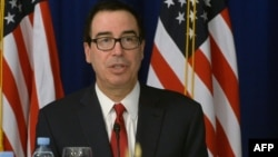 Стивен Мнучин, глава Министерства финансов США