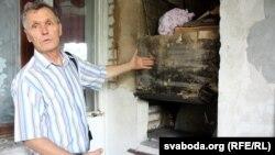 Печ дома ў Міколы Чарнавуса