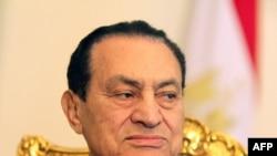 Бывший президент Египта Хосни Мубарак. Каир, 8 февраля 2011 года.