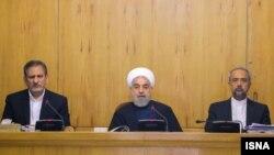Իրանի նախագահ Հասան Ռոհանին կառավարության հերթական նիստին, արխիվ