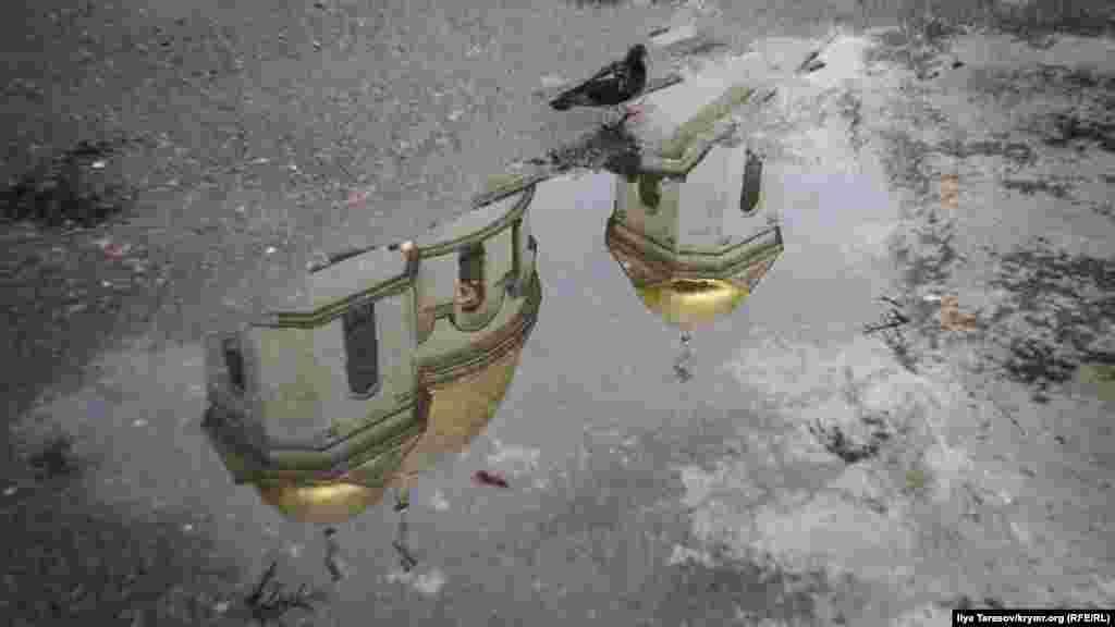 14 сентября Симферополь накрыл ливень с грозами