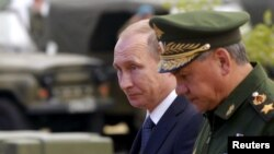 Ռուսաստանի նախագահ Վլադիմիր Պուտինը և պաշտպանության նախարար Սերգեյ Շոյգուն, արխիվ