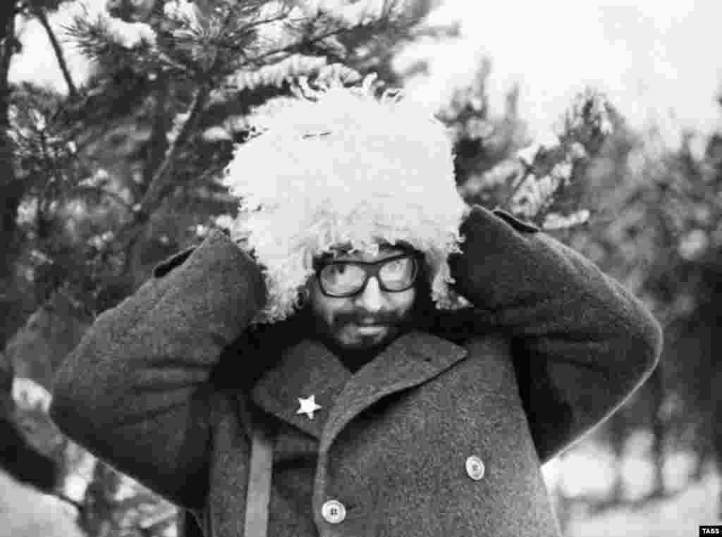 ژانویه ۱۹۶۴؛ فیدل کاسترو در مسکو