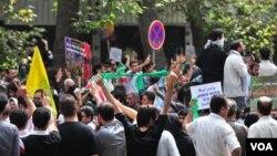 Антиправительственные выступления 2009 года в Тегеране.