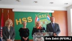 Konferencija za medije HSS-a