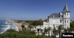 Дом в Биаррице, принадлежащий Кириллу Шамалову