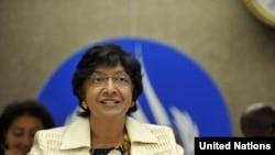 ناوانه تم پیلای، کمیسر حقوق بشر سازمان ملل