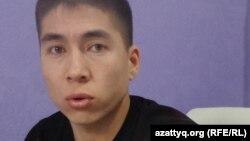 Бывший сотрудник ДВД Мангистауской области Фархад Абдухалыков. Актау, 27 марта 2016 года.