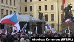 La demonstrația anti-imigrație de la 6 februarie la Praga
