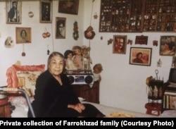 تصویری از توران وزیری تبار، مادر فریدون و فروغ فرخزاد