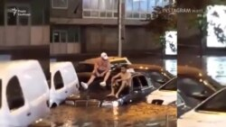 Центр Киева снова «поплыл» – видео очевидцев (видео)