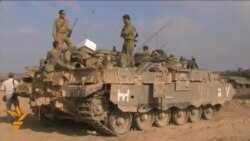 Israeli Troops Deploy Near Gaza Border