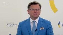 «Я задоволений нервовою реакцією Лаврова на «Кримську платформу» – Кулеба під час брифінгу МЗС (відео)