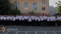 Америкаликлар томонидан тайëрланган полиция тез орада Одессада иш бошлайди