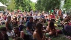 «Троіца» выступіла на сусьветна вядомым фэстывалі WOMAD у Вялікабрытаніі