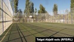 Айылга курулган футбол аянты
