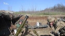 Українські військові знищили ворожі позиції на Донбасі – відео