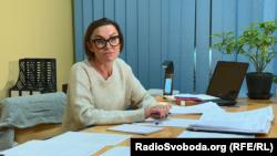 Голова Сватівської об'єднаної територіальної громади Віта Сліпець