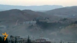 Heavy Fighting Encroaches On Damascus