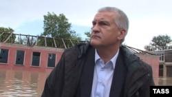 Сергій Аксенов під час потопу в Керчі