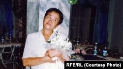 Journalist Ogulsapar Muradova at her son's wedding party in Ashgabat in 2002.