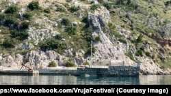 Uvala Vruja nedaleko Brela u srednoj Dalmaciji