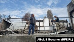 Көк-Терек айылы. Баткен. 7-май, 2021-жыл.