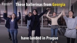 Georgian Ballerinas Celebrate Visa-Free EU Travel