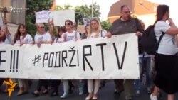 Mijëra vetë kërkuan dorëheqjen e Bordit të RTV-së